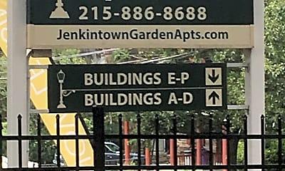Jenkintown Gardens, 1