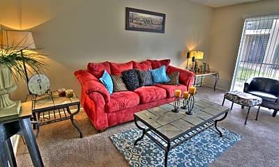 Living Room, Rosemont Apartments, 0