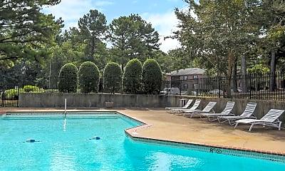 Pool, Gardenwood Apartments, 0
