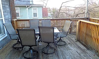 Patio / Deck, 2804 Overland Ave, 2