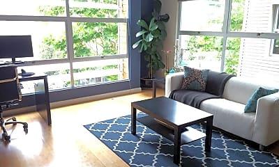 Living Room, 6466 Hollis St, 1