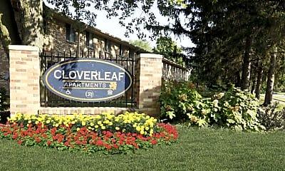 Community Signage, Cloverleaf Apartments, 2