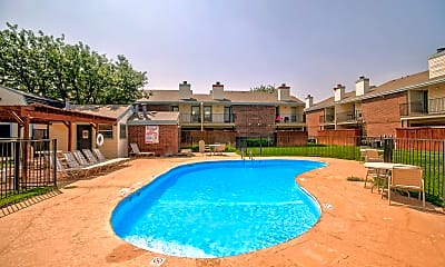 Pool, Indian Trail, 1