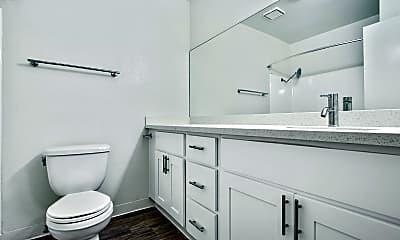 Bathroom, Blue North, 2