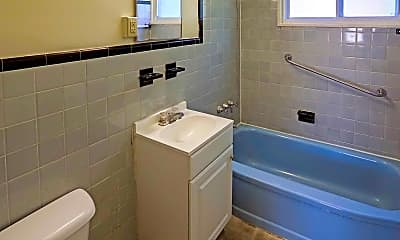 Bathroom, Grant Village Apartments, 2