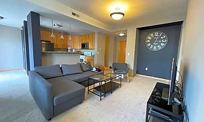 Living Room, 825 Berry St 407, 0