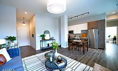 Living Room, 415 DeBaliviere Ave, 0