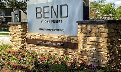 Community Signage, Bend at Oak Forest, 1