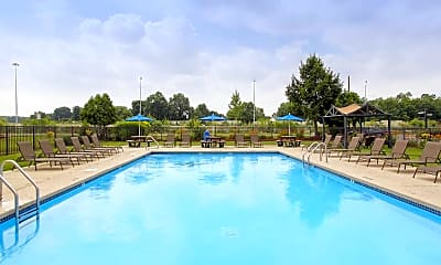 Pool, Blendon Square Townhomes, 1