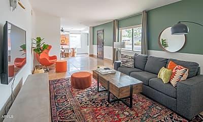 Living Room, 6908 E Cheery Lynn Rd, 0