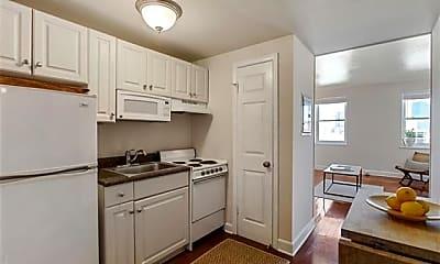 Kitchen, 1205 St Charles Ave 1011, 1