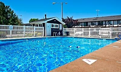Pool, Camelot Apartments, 2