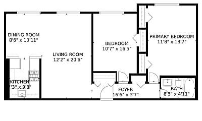 Patio / Deck, 8601 Manchester Rd, 2