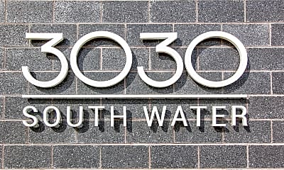 Community Signage, 3030 South Water Street Apartments, 2