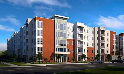 Rendering, 605 Place Student Housing, 0