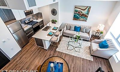 Living Room, 644 N. Hobart Blvd - 8, 0