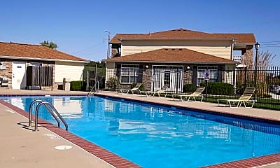 Pool, Lenox West Luxury Apartments, 0