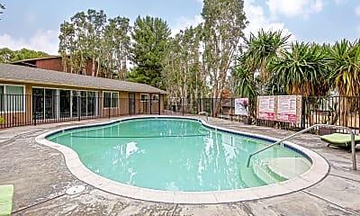 Pool, Las Palmas Apartments, 2