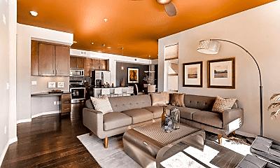 Living Room, 1100 Grant St, 0