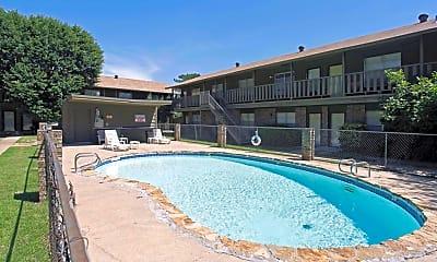 Pool, Squire Village Apartments, 0