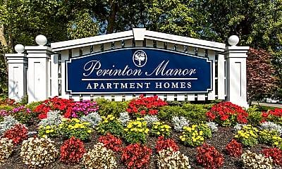 Community Signage, Perinton Manor Apartments, 2
