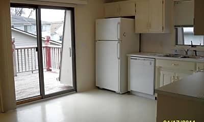 Kitchen, 3527 Ave B, Unit B, 1