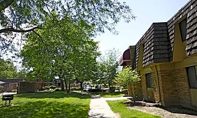 Building, Garden Woods Apartments, 1