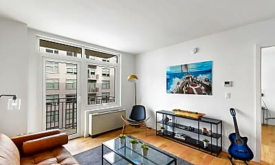 Living Room, 1277 E 14th St 723F, 1