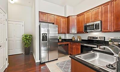 Kitchen, Clayborne Apartments, 1