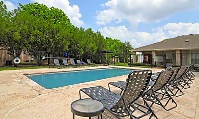 Pool, Encino Park Apartments, 0