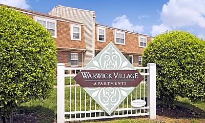 Community Signage, Warwick Village, 2