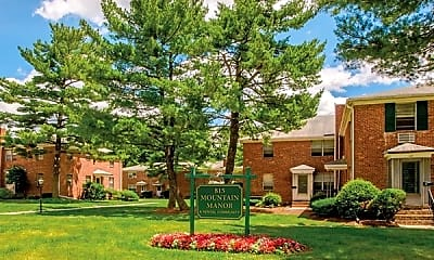 Community Signage, Mountain Manor Apartments, 2