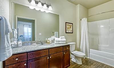 Bathroom, Glenbrook Apartments, 2
