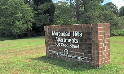 Morehead Hills Apartments, 1