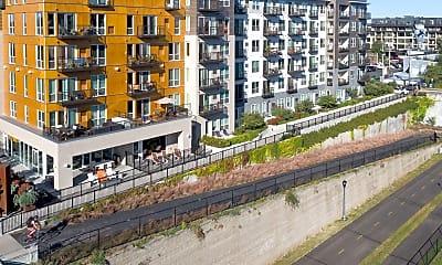 Community Signage, Track 29 City Apartments, 2