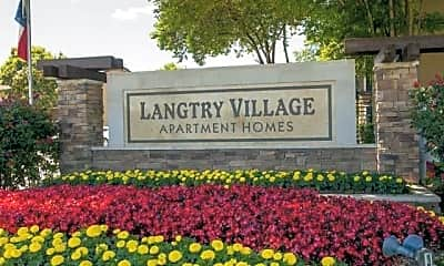 Langtry Village Apartments, 1