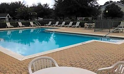 Pool, Wilmington Apartments, 1
