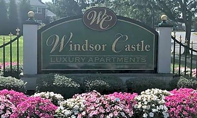 Community Signage, Windsor Castle Apartments, 0