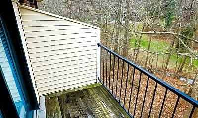 Patio / Deck, Deer Park Apartments, 2