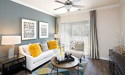 Living Room, The Ashborough Apartments, 1