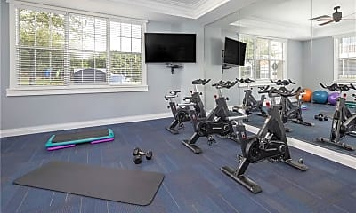 Fitness Weight Room, 1820 Crosstown Club Pl C1, 2