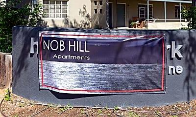Community Signage, Nob Hill Apartments, 1