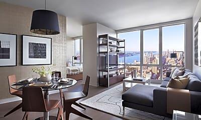 Living Room, 405 W 42nd St, 1
