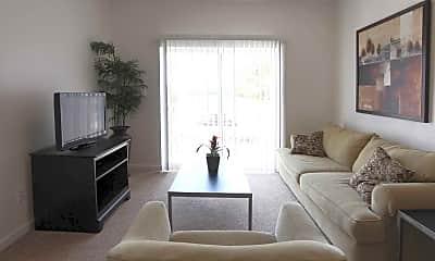 Living Room, Whitten Creek Apartments, 1