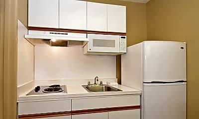 Kitchen, Furnished Studio - Houston - Med. Ctr. - NRG Park - Fannin St., 1