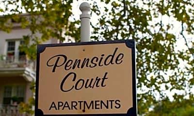 Community Signage, Pennside Court, 1