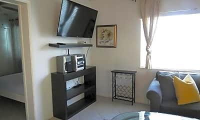 Living Room, 3360 Garfield St C, 2