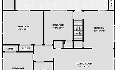Building, 4744 S Logan St, 2