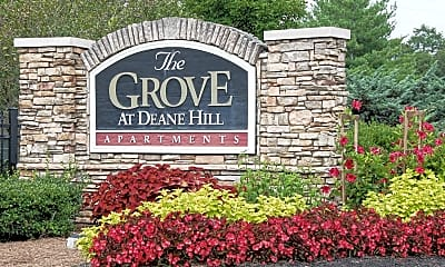 Community Signage, The Grove at Deane Hill, 2