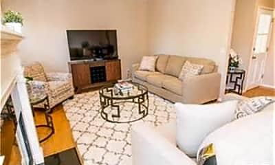 Living Room, 5840 White Oak Ave, 1